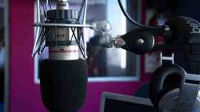 Estudio de radio. Imagen de archivo