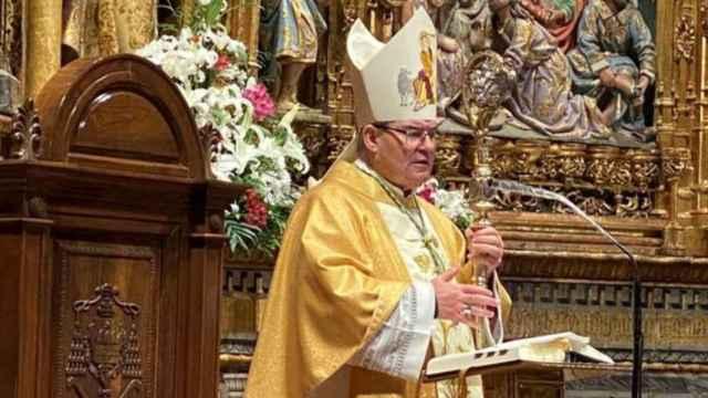 Francisco Cerro Chaves, arzobispo de Toledo, en una imagen reciente