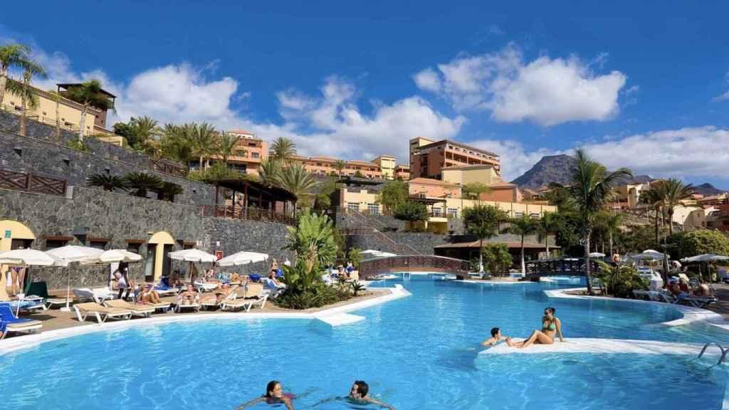 Hotel Melía Jardines del Teide.