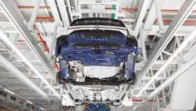 Imagen de la planta navarra de Volkswagen.