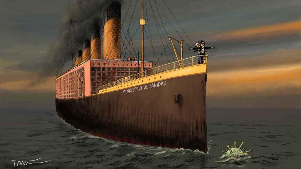 El naufragio del Ministerio de Sanidad.
