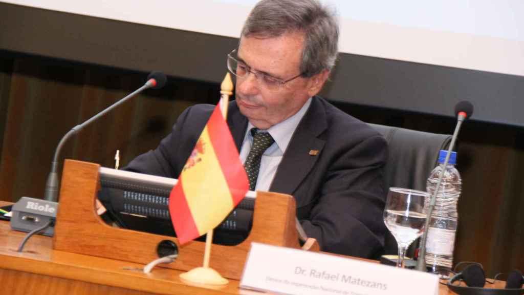 El exdirector de la ONT Rafael Matesanz.