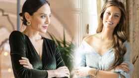 Tamara Falcó y Ana Boyer, en un montaje de Jaleos.