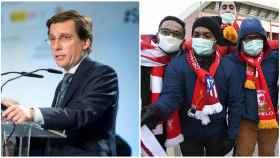 Almeida y seguidores del Liverpool