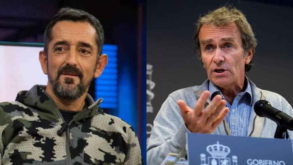 Los médicos Pedro Cavadas y Fernando Simón.