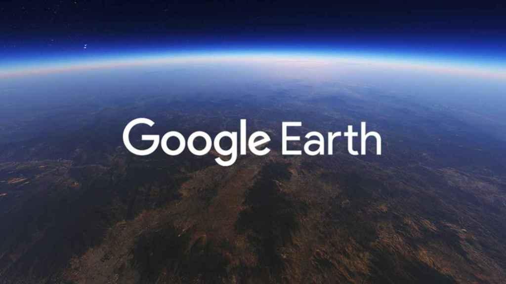 Logo de Google Earth.