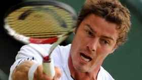 Marat Safin, en un partido de tenis