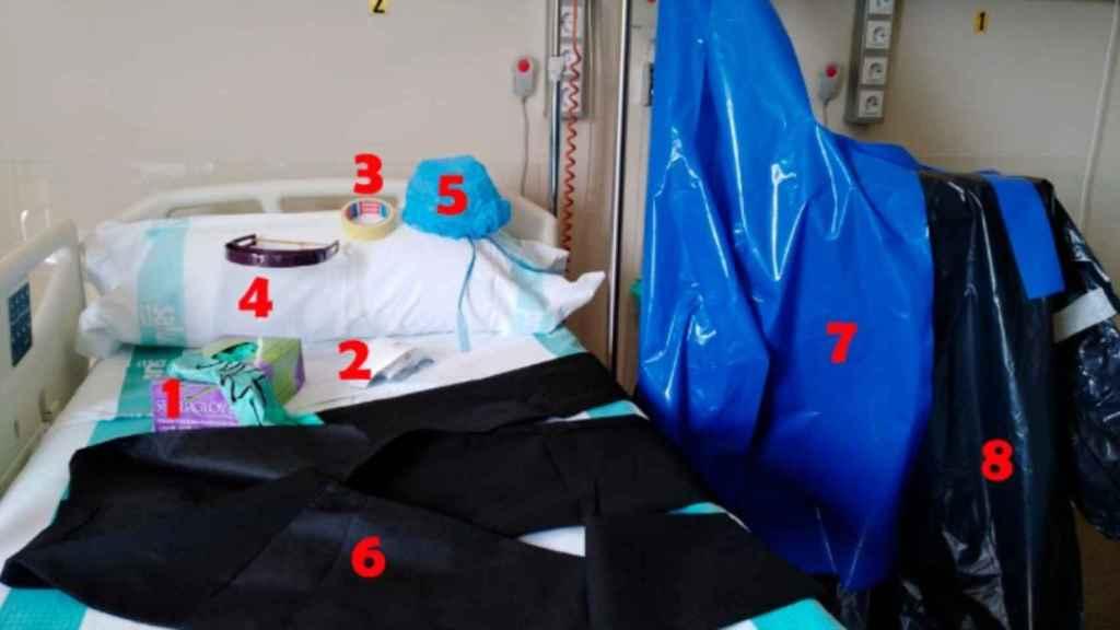 Los ocho equipos de pseudoprotección.