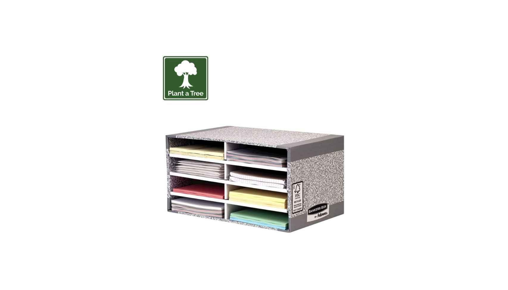 Compartimentos para documentos