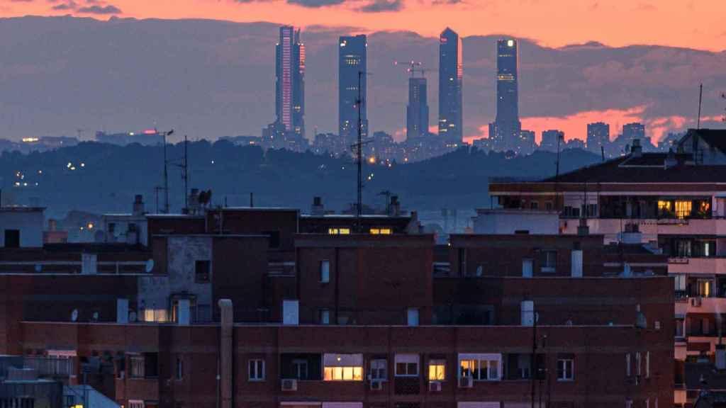 La contaminación por NO2 en Madrid se sitúa en mínimos históricos.