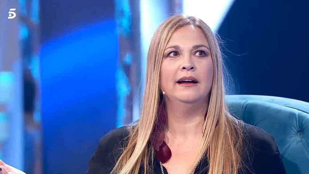 Loreto Valverde durante su visita al programa 'Volverte a ver'.