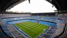 El Santiago Bernabéu, vacío