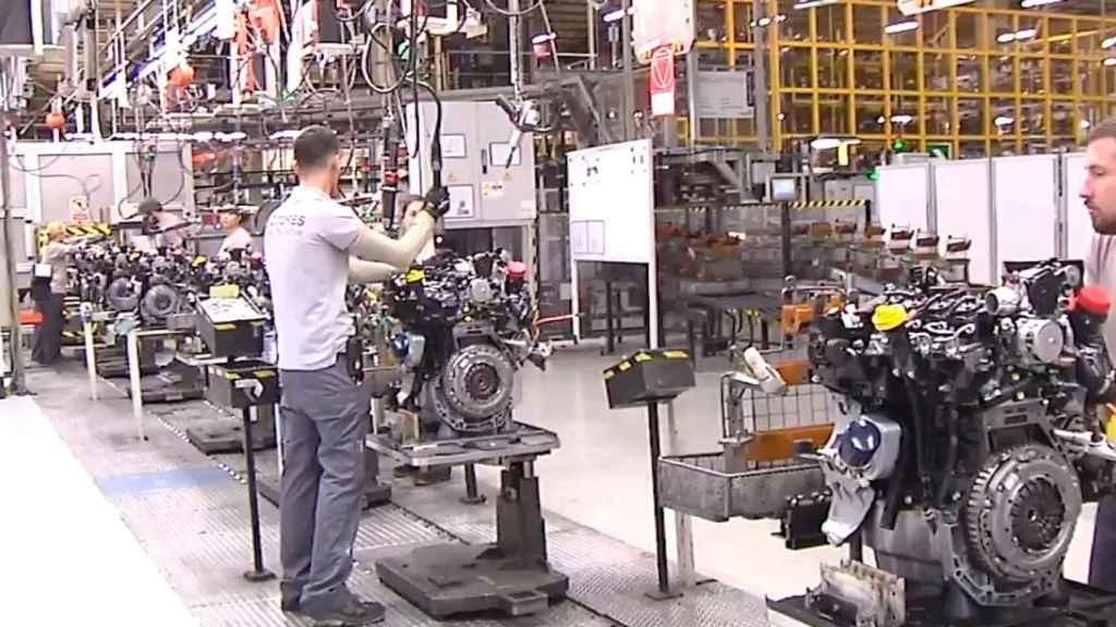Factoría de Renault en Valladolid.