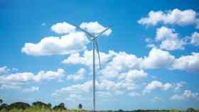 Una de las turbinas de Siemens Gamesa.