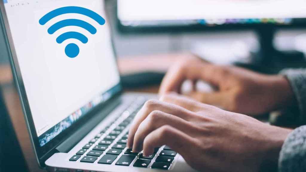 WiFi en ordenador.