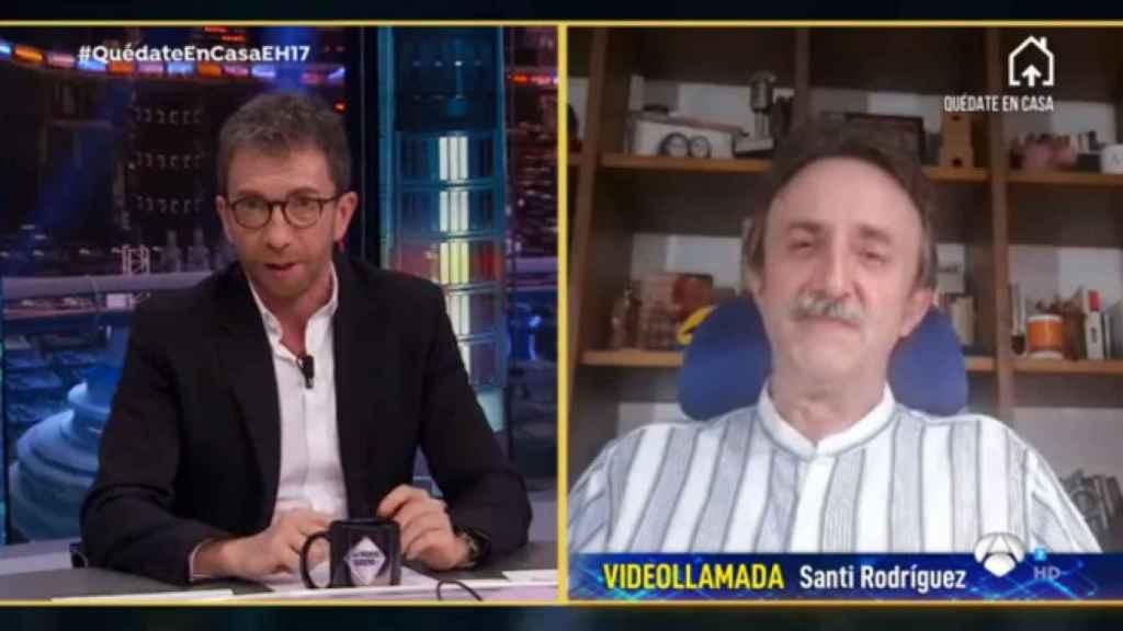 Santi Rodríguez ha explicado en 'El Hormiguero' cómo está viviendo la cuarentena.