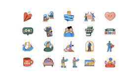 WhatsApp lanza nuevos stickers con la OMS para animarte a quedarte en casa