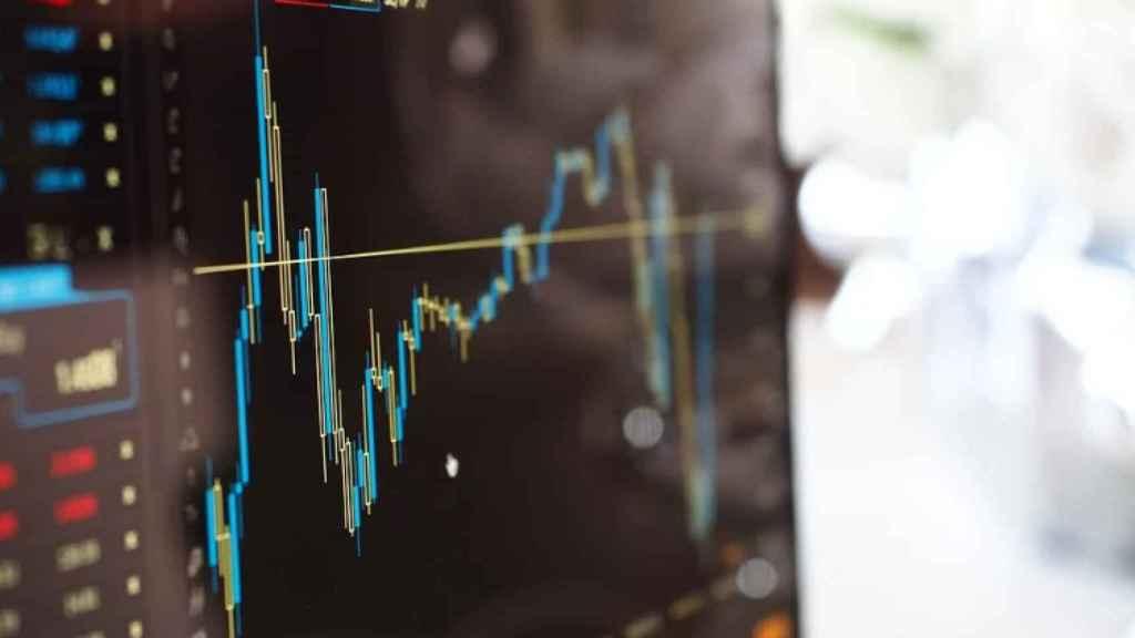 Imagen de archivo de pantallas de trading.