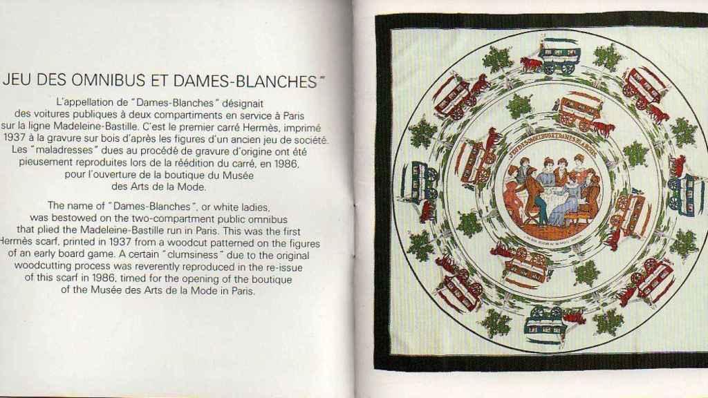 Primer 'carré' de Hermès.