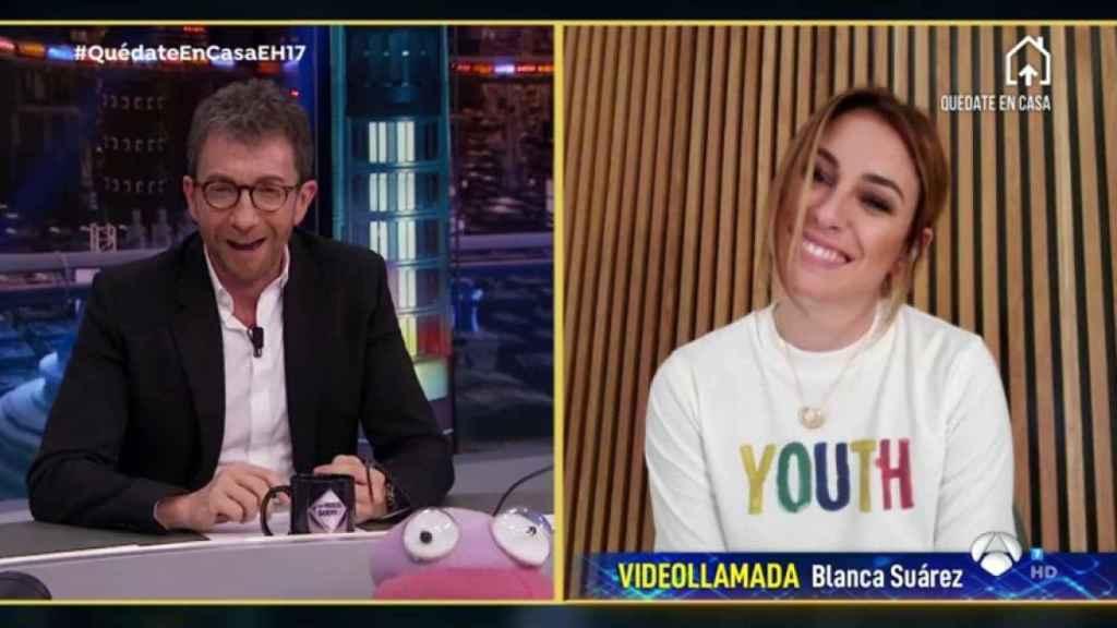Blanca Suárez ha visitado este martes 'El Hormiguero'.