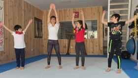 La karateca talaverana Sandra Sánchez, entre los deportistas de élite que participan en el programa-Nos movemos