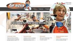 Fotomontaje de la consejera de Salud valenciana y la empresa de mascarillas brasileña.