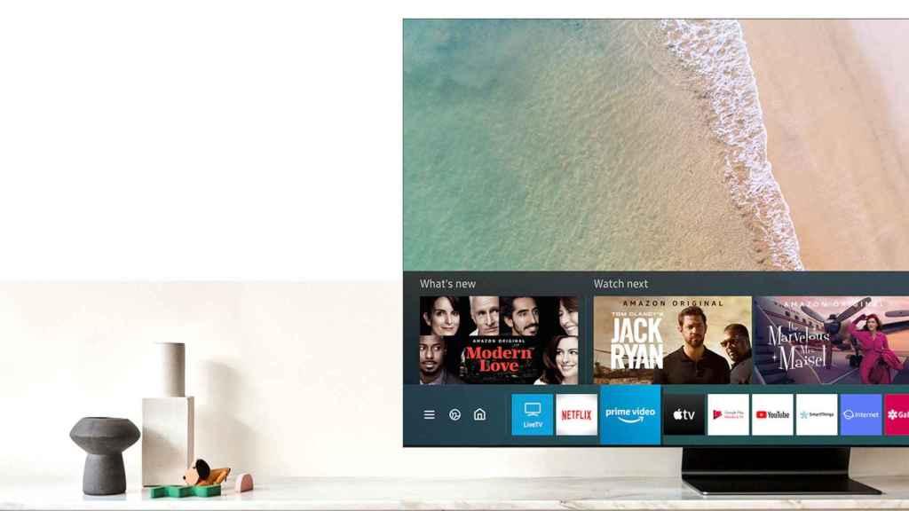 La pantalla Infinity es una de las grandes bazas de los nuevos QLED de Samsung