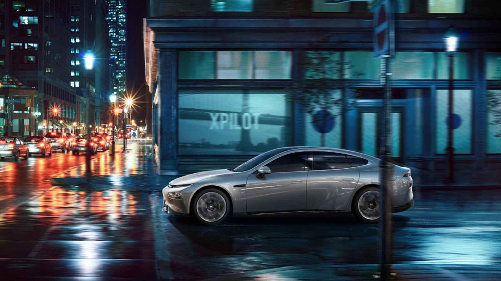 Xpeng P7, el nuevo coche eléctrico chino rival de Tesla