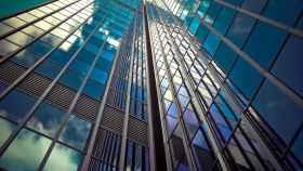 En edificios como este, todas esas ventanas podría capturar energía solar