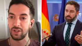 David Broncano y Santiago Abascal
