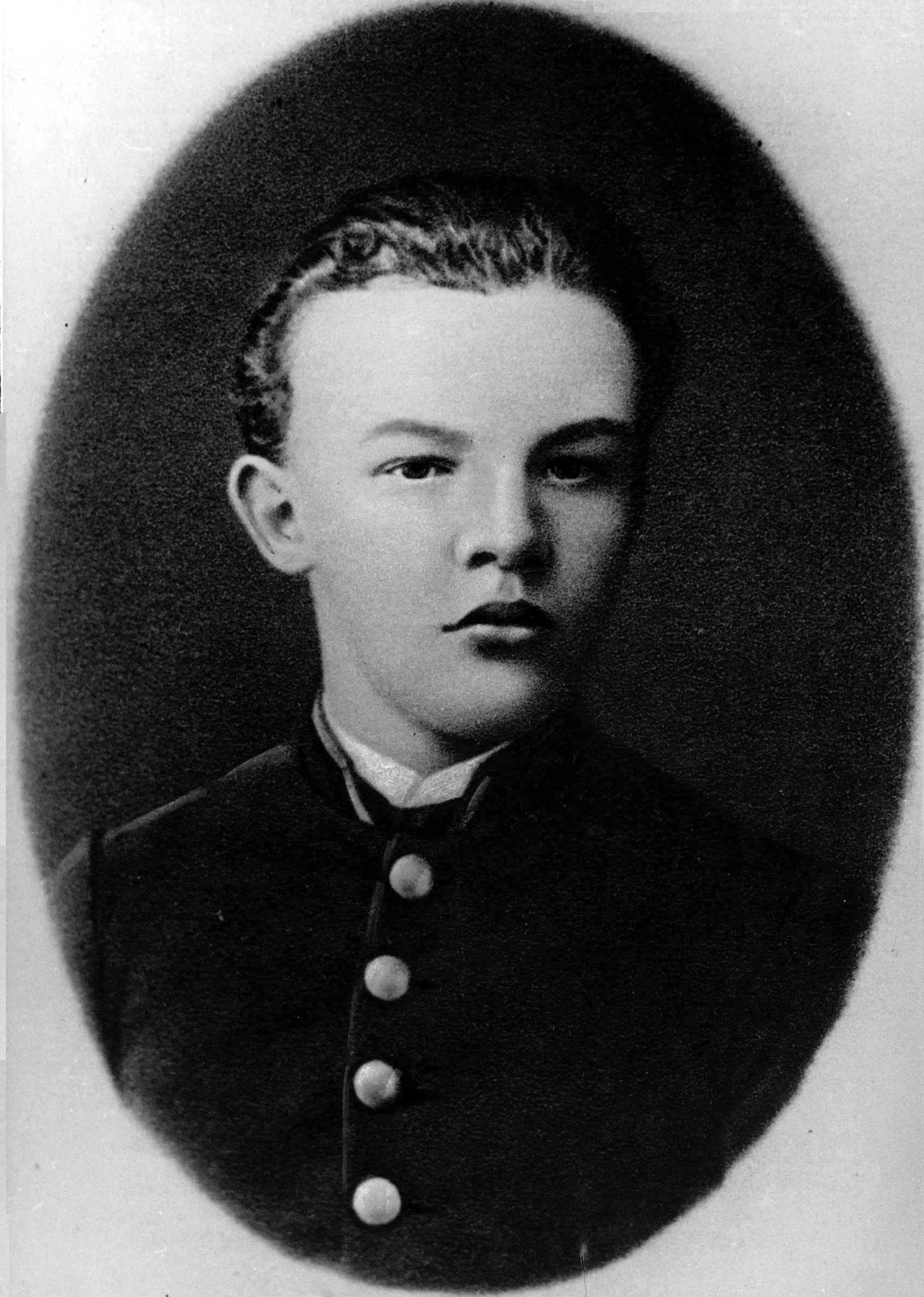 Joven Lenin.