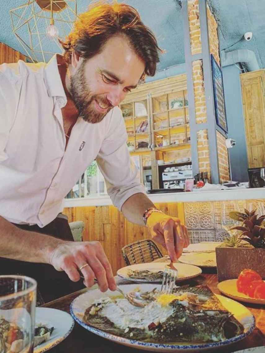 En 2016 Javier Ungría fundó el restaurante haches.
