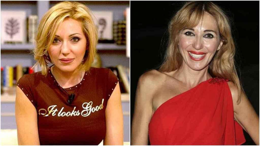 A la izquierda, Ania Iglesias en el año 2000. A la derecha, Ania en la actualidad.