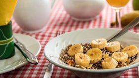 Una imagen de archivo de un desayuno.