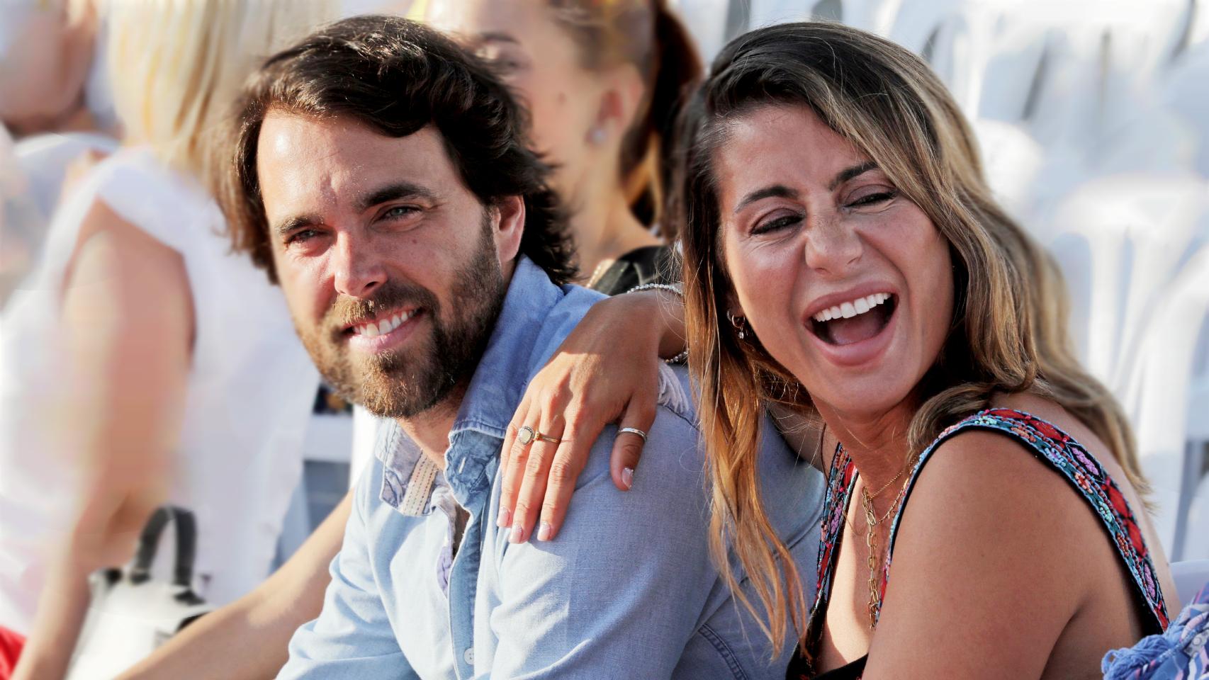 Elena Tablada y Javier Ungría se han convertido recientemente en padres.