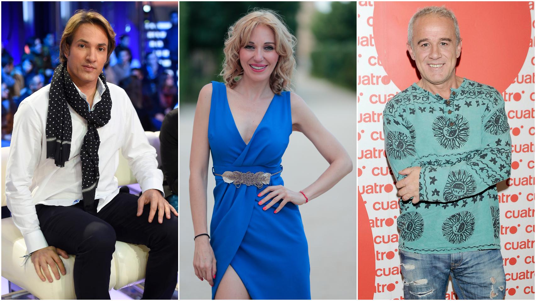 Ismael Beiro, Ania Iglesias e Iván Armesto.