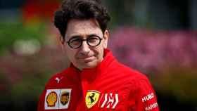Binotto, jefe de Ferrari