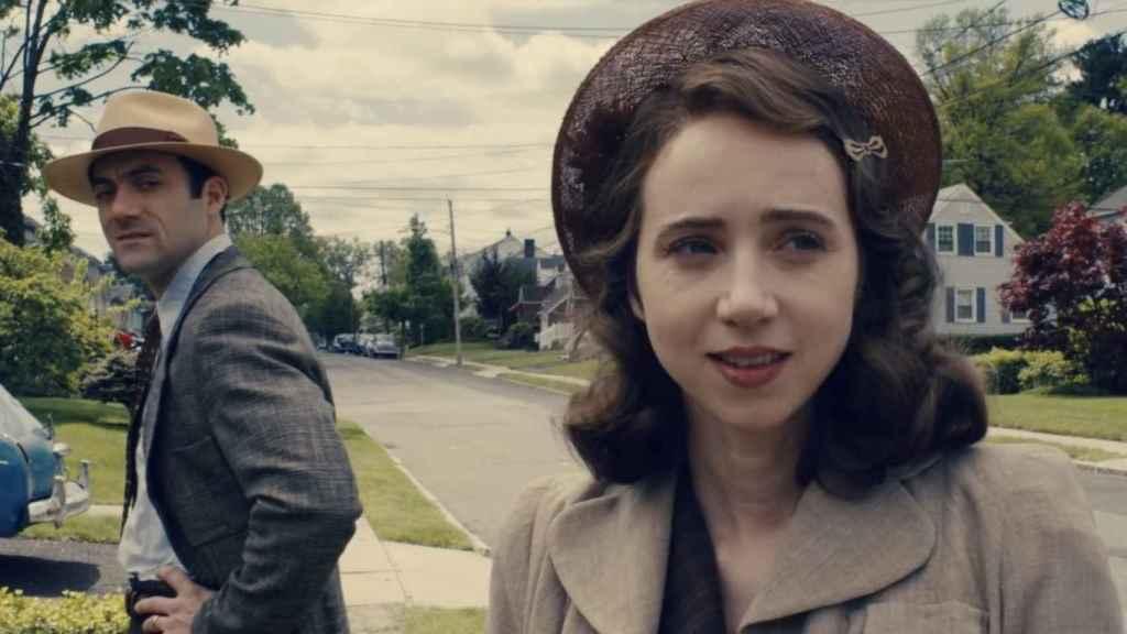 Zoe Kazan en La conjura contra América.
