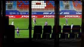 El Eibar-Real Sociedad a puerta vacía