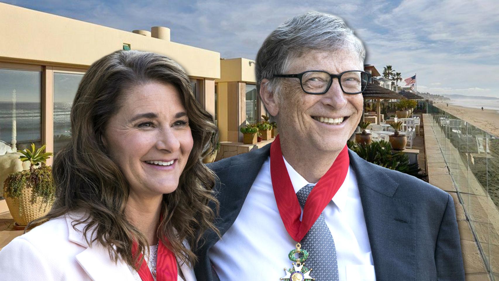 Melina y Bill Gates