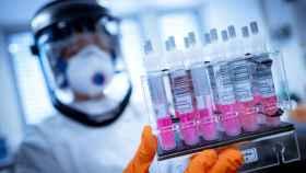 Imagen de recurso de trabajadores de laboratorio en busca de una vacuna contra el coronavirus - Foto: Peter Steffen/dpa