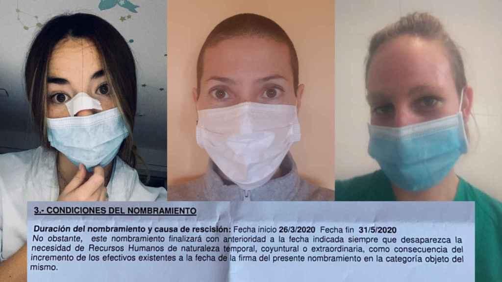 La Comunidad de Madrid no renovará el contrato a miles de enfermeras.