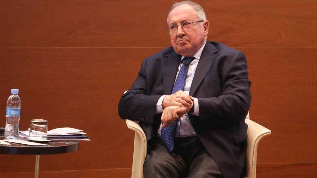 El presidente de la Cámara de Comercio de España, José Luis Bonet en una foto de archivo.