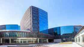 Proyecto del complejo de oficinas del distrito 22 de Barcelona.