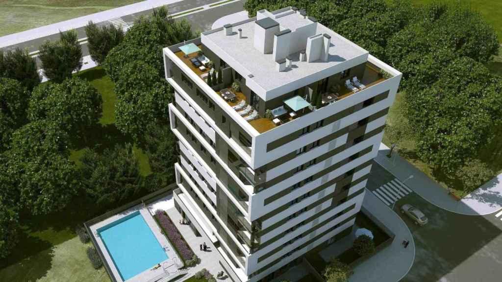 Imagen de una promoción de Habitat en Madrid.