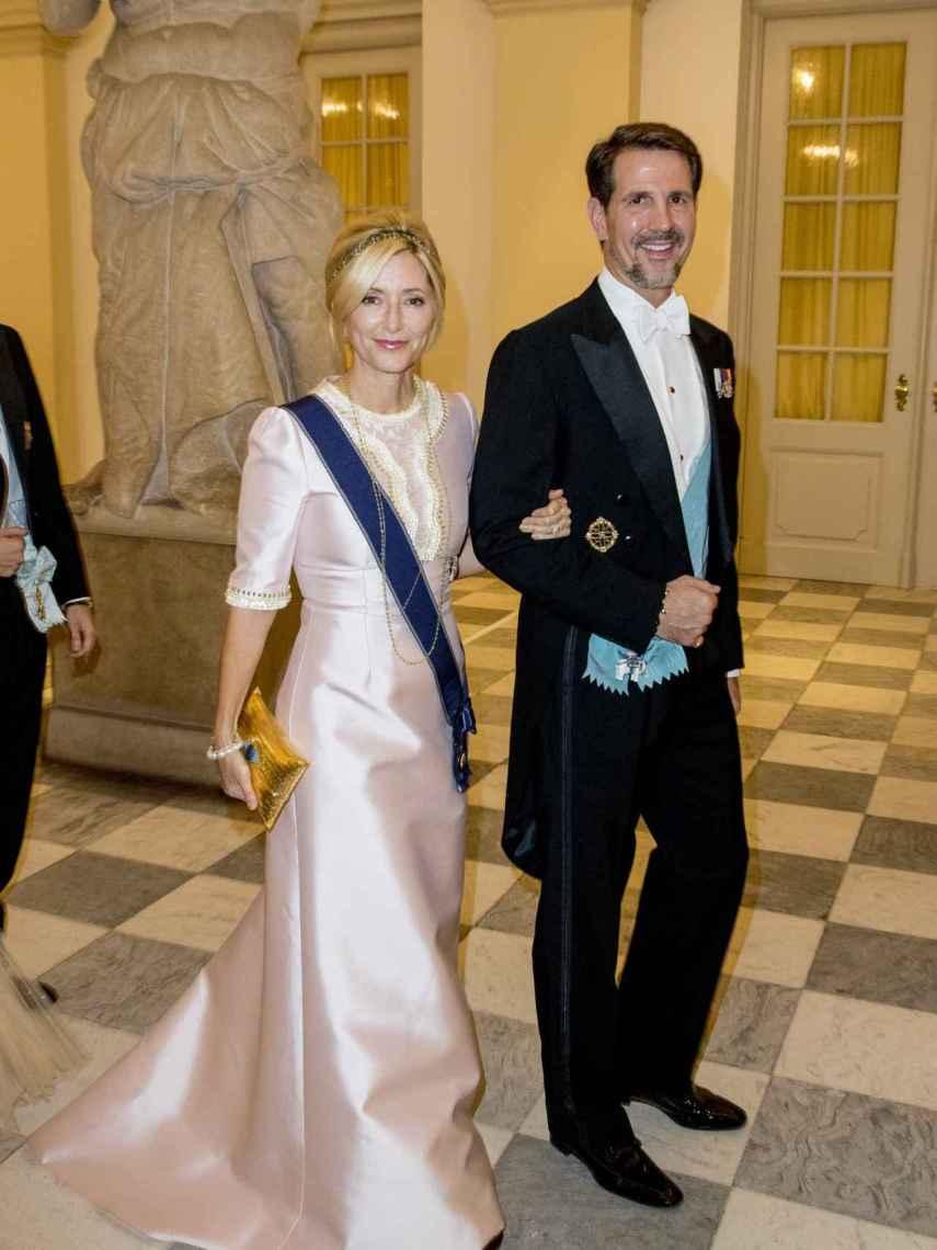 Marie Chantal contrajo matrimonio con Pablo de Grecia.