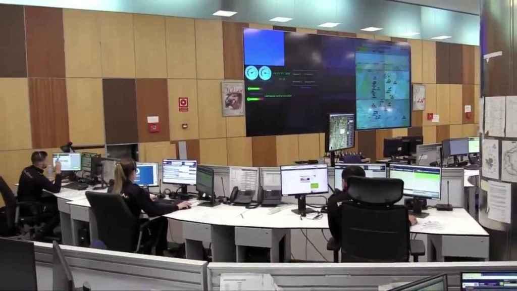 Interior de la sala del CIMACC 091.