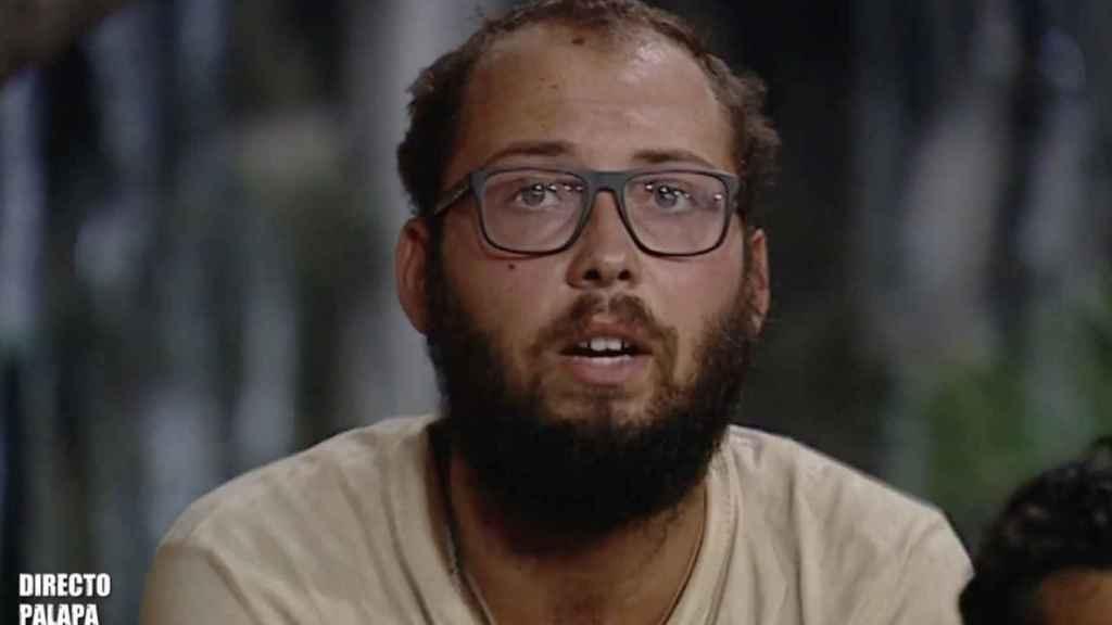 José Antonio Avilés durante la última emisión de 'Supervivientes'.