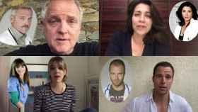 Los actores de la serie se han reunido virtualmente para agradecer la labor de los trabajadores de hospitales.