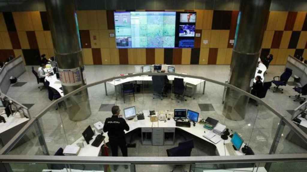 'La Sala', el centro de operaciones del CIMACC 091 de la Policía Nacional.